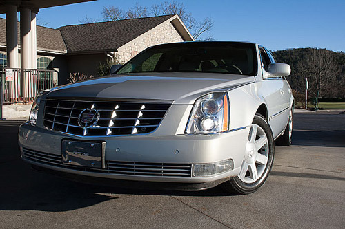 Used Cadillac DTS loaded for sale in Branson Springfield MO