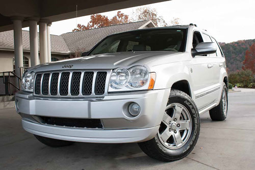 Used 4X4 Jeep Grand Cherokee Overland for sale Branson Springfield MO