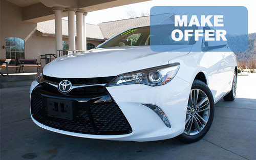 2017 used Toyota Camry for sale Branson Springfield Missouri