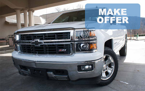 Used AWD Chevy Silverado Z71 4X4 truck for sale Springfield Branson MO